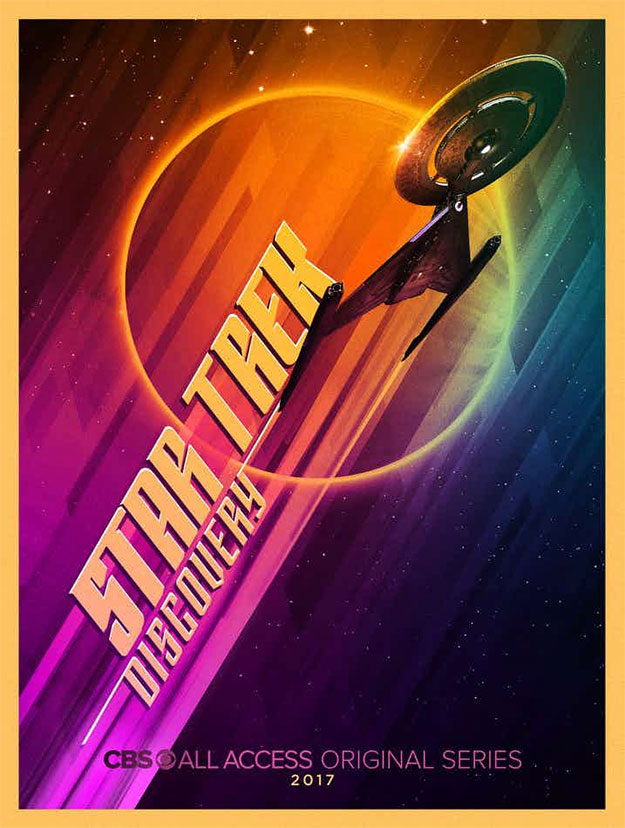"Cartel Comic-Con 2017 de ""Star Trek: Discovery"""