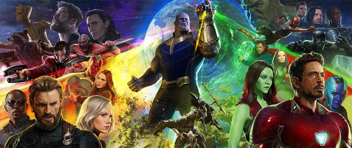 Fabuloso concept art de Vengadores: La Guerra del Infinito