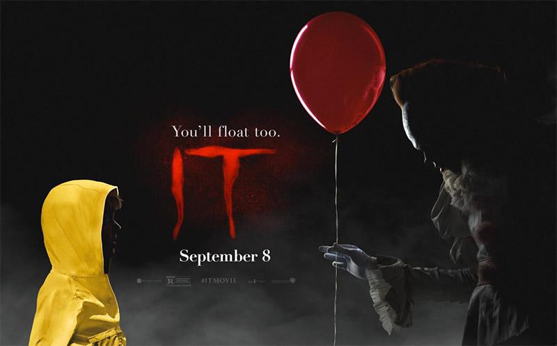 Un nuevo cartel de It, la cosa va de flotar
