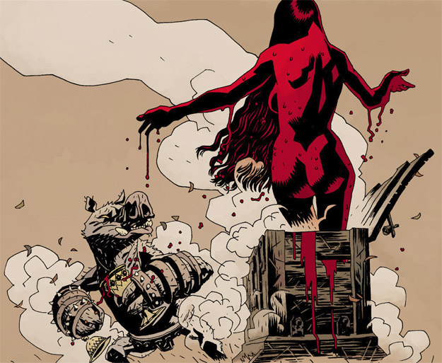La Blood Queen del universo de Mike Mignola y Hellboy