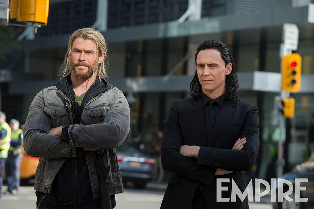 Thor y Loki, hermanos