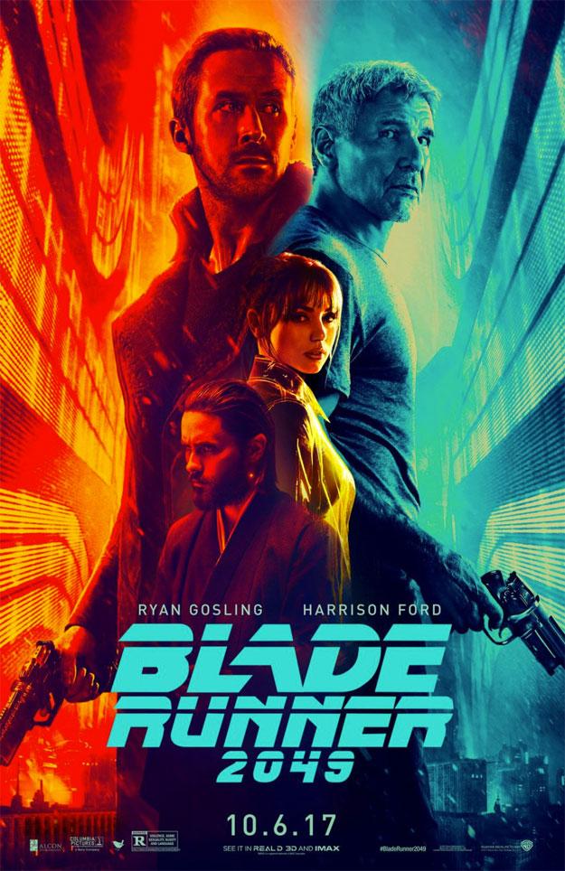 Este cartel de Blade Runner 2049 me encanta
