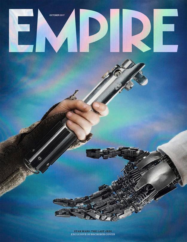 Última portada de la revista Empire... canela final Star Wars