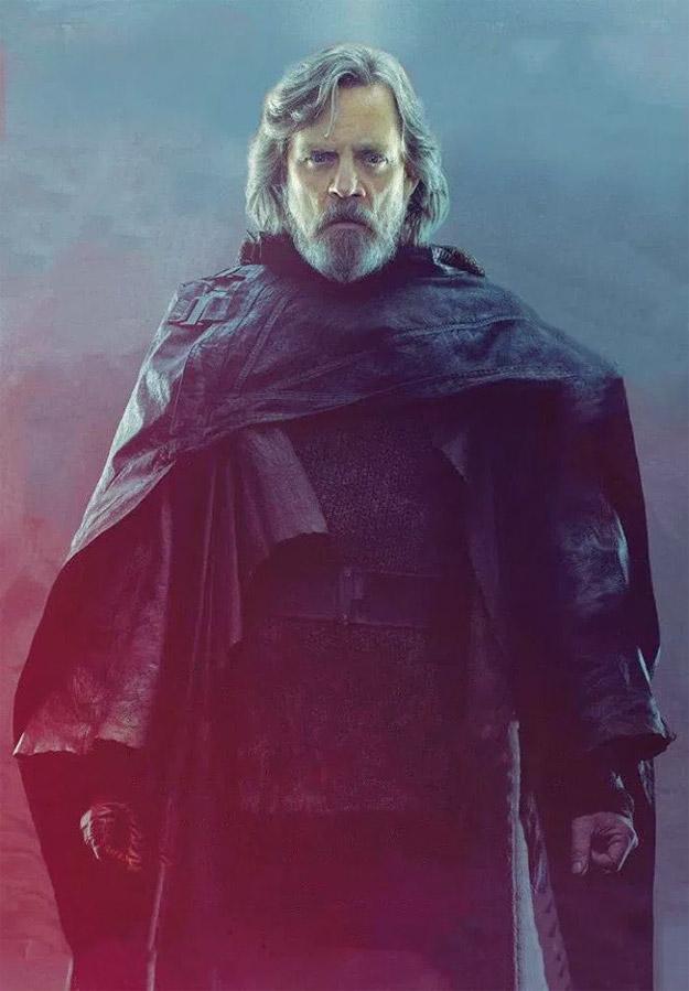 Saludemos al maestro Jedi... Luke Skywalker