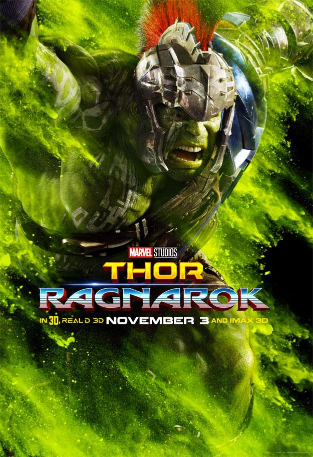 Nuevo cartel de Thor: Ragnarok