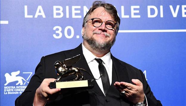 Guillermo del Toro y el León de Oro por La Forma del Agua