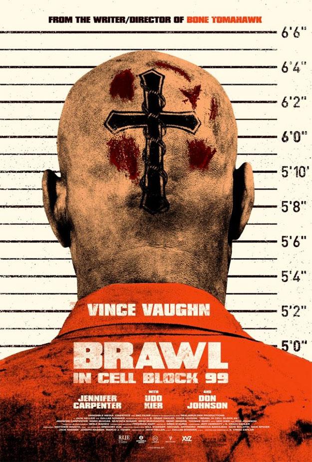 Cartel de Brawl in Cell Block 99