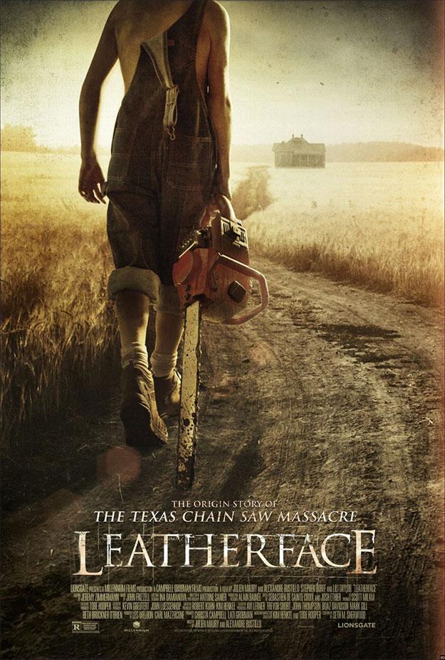 Nuevo cartel de Leatherface, que veremos en Sitges 2017