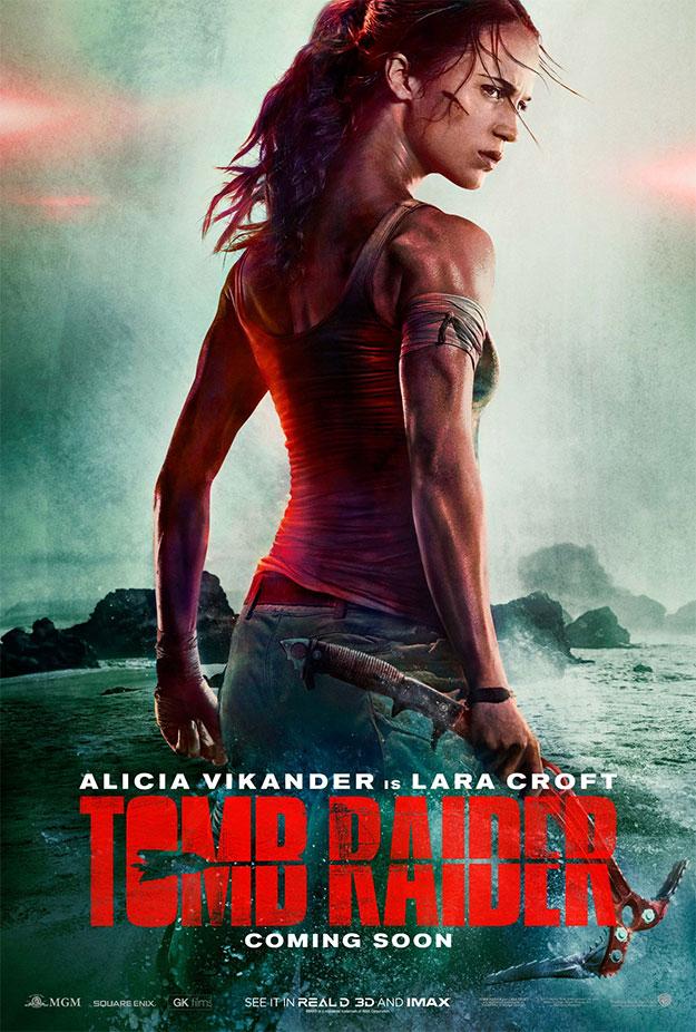 El primer cartel de Tomb Raider