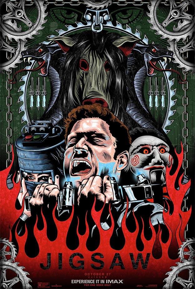 Cartel IMAX de Jigsaw