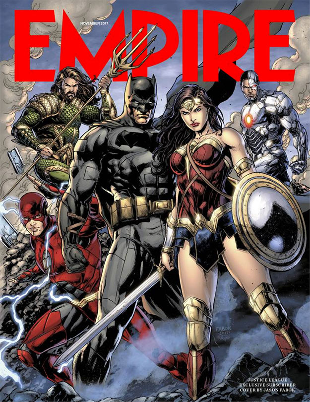 Portada de Empire para Liga de la Justicia