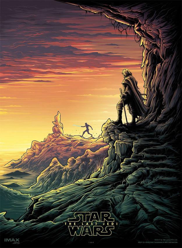 Cartel final de Star Wars: Los Últimos Jedi