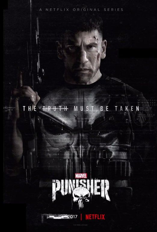 "Un par de carteles de ""Marvel's The Punisher"""