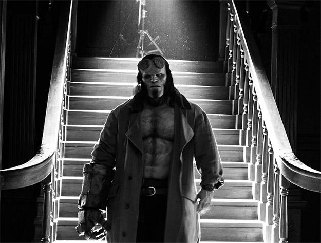 Un nuevo vistazo al también nuevo Hellboy