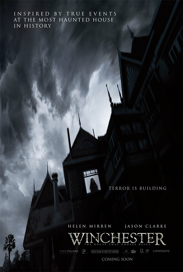 Primer cartel de Winchester (the house that ghost rule) con Helen Mirren y Jason Clarke
