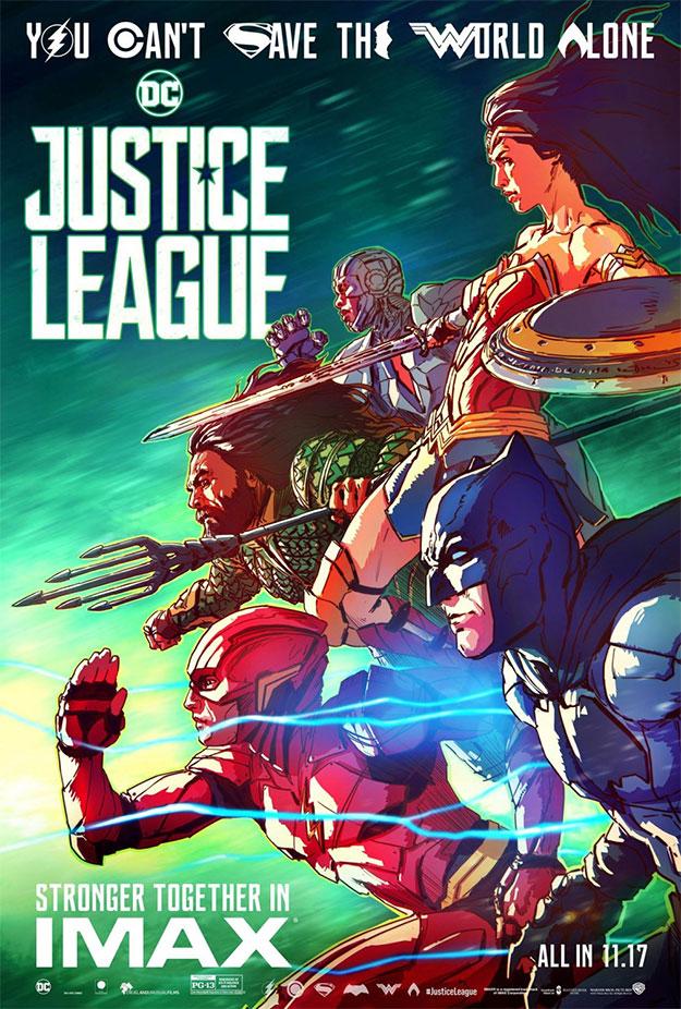 Otro genial cartel de Liga de la Justicia