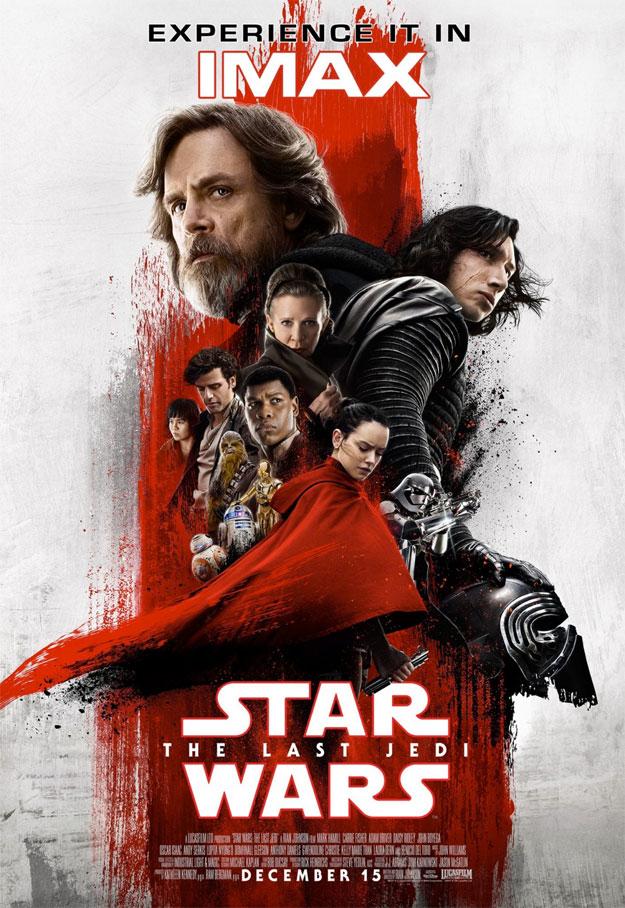Cartel IMAX de Star Wars: Los Últimos Jedi