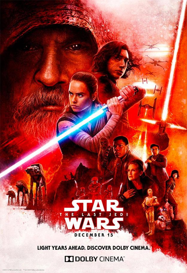 Un nuevo cartel de Star Wars: Los Últimos Jedi