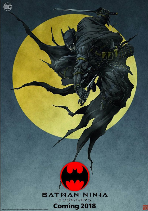 Alucinante cartel de Batman Ninja