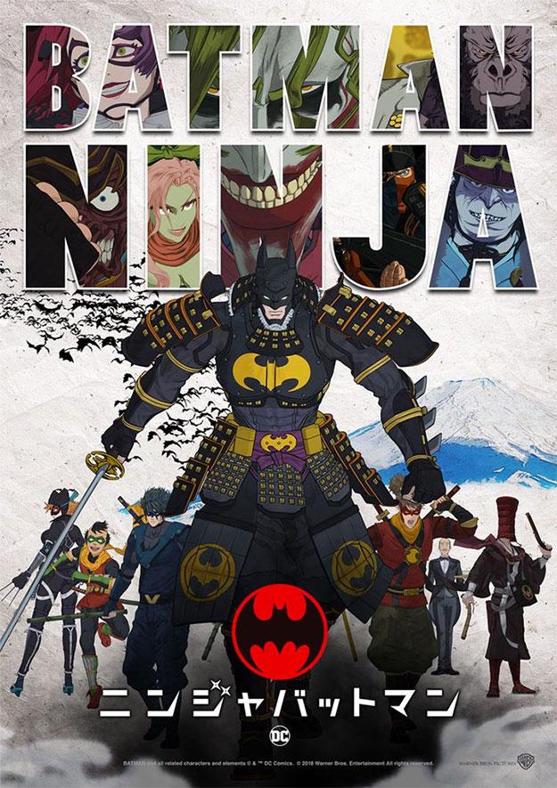 No es alucinante, pero salen todos... ¡en Batman Ninja están todos!