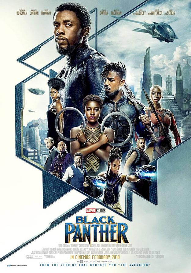 El nuevo cartel de Black Panther