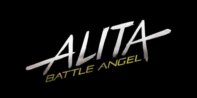 A falta de un cartel el logo de Alita: Ángel de Combate