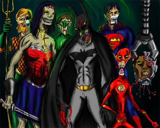 Se prevén cambios en DC Films... arte de Jason Gray