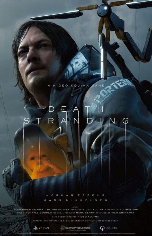 Uno de los nuevos carteles de Death Stranding de Hideo Kojima