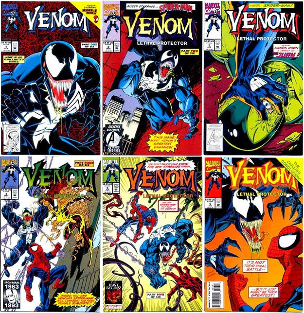 """Todas las portada de """"Venom: Lethal Protector"""""""