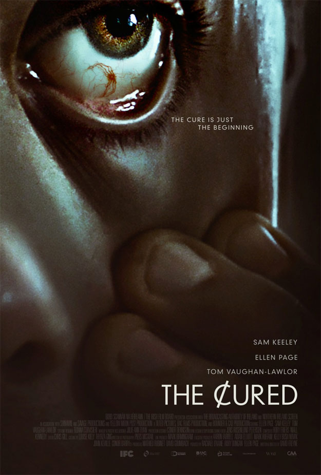 Tras el trailer llega el cartel de The Cured. Si os la perdéis no pasa nada