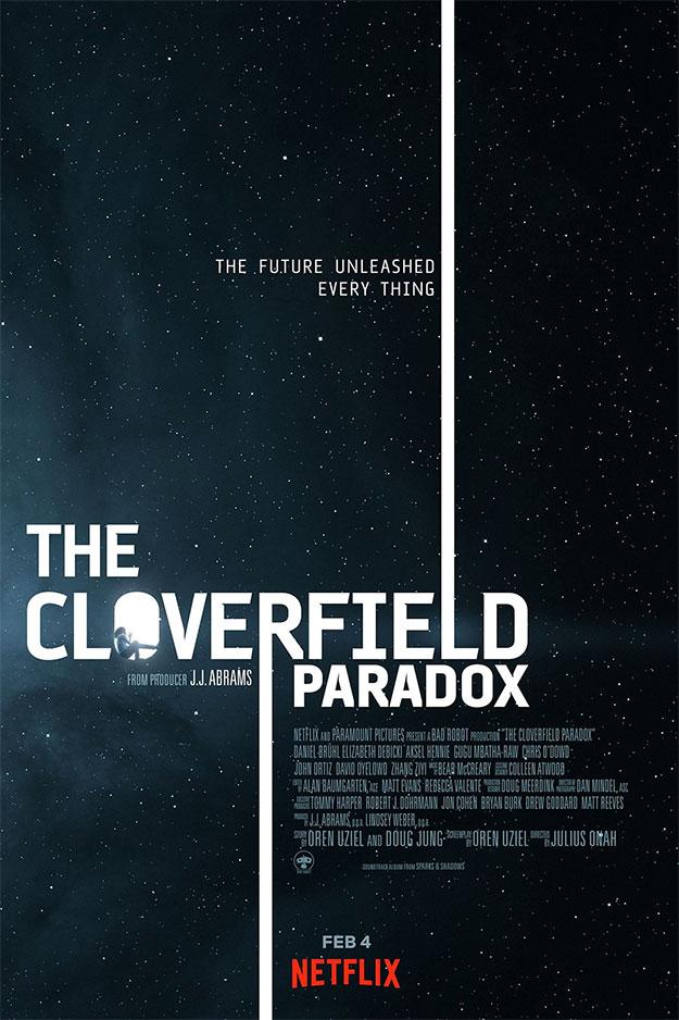 El primer cartel de The Cloverfield Paradox, así sin anestesia