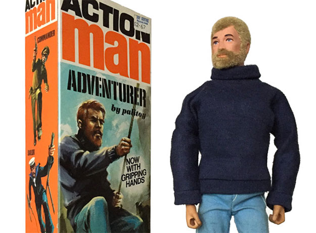 Action Man de los antiguos... el de palitoy
