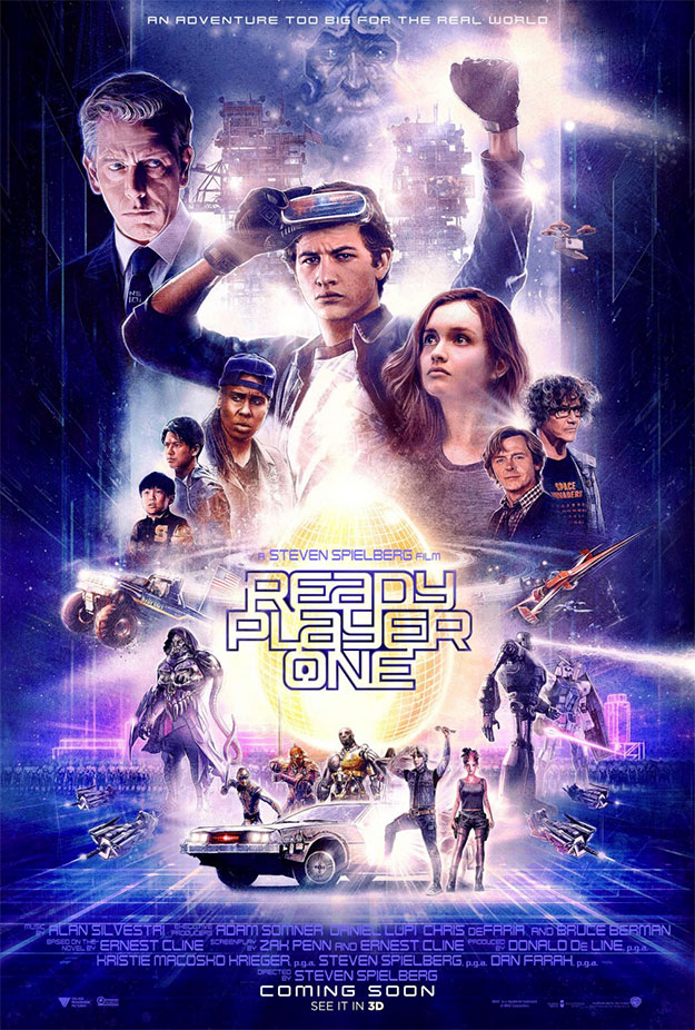 Genial, al fin, este nuevo cartel de Ready Player One