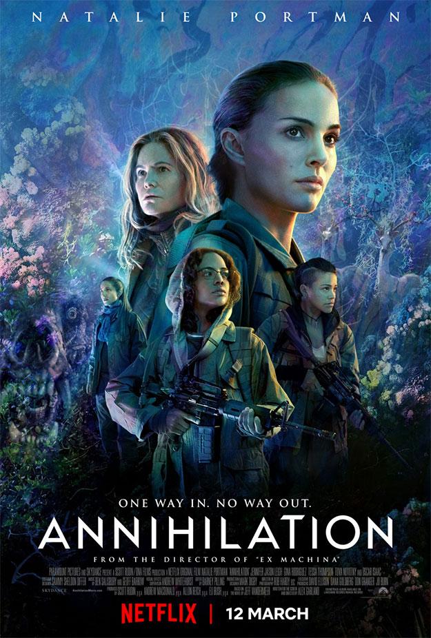 Cartel final de Annihilation de Alex Garland