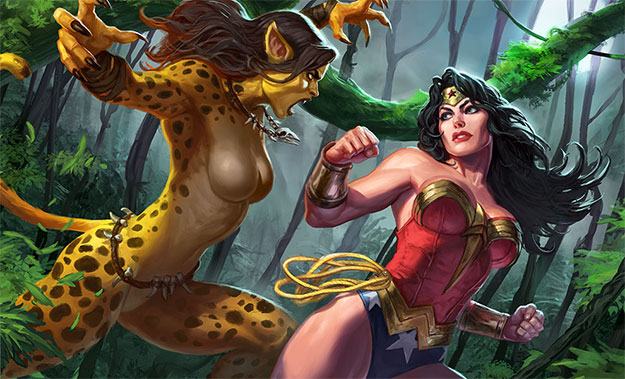 Lo que podría ser Cheetah vs. Wonder Woman