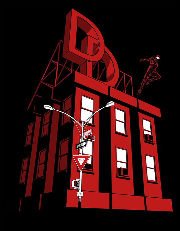 Cartel de la tercera temporada de Marvel's Daredevil