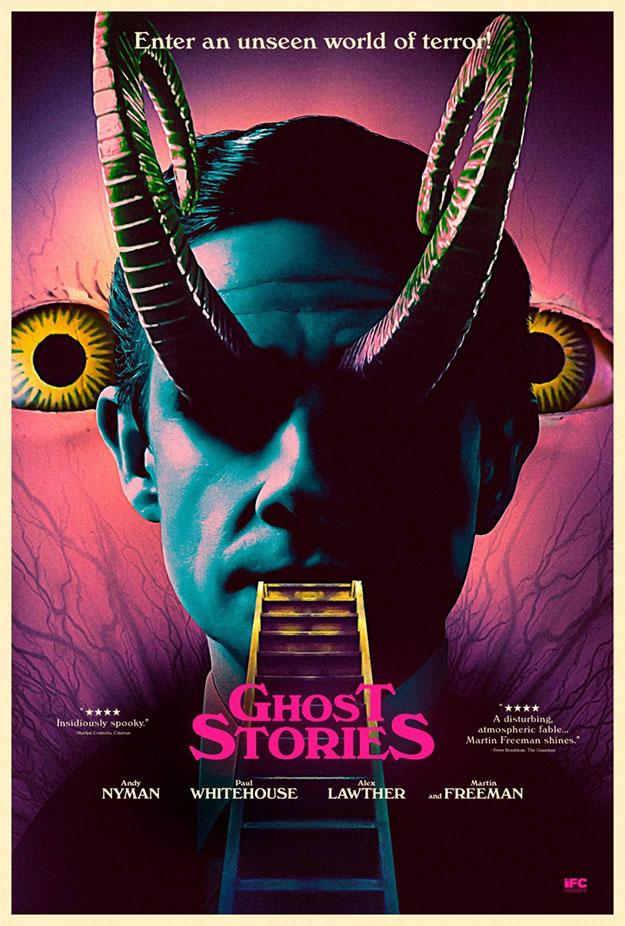 Tremendo cartel de Ghost Stories