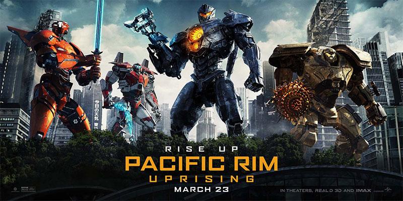 Un banner de Pacific Rim: insurrección