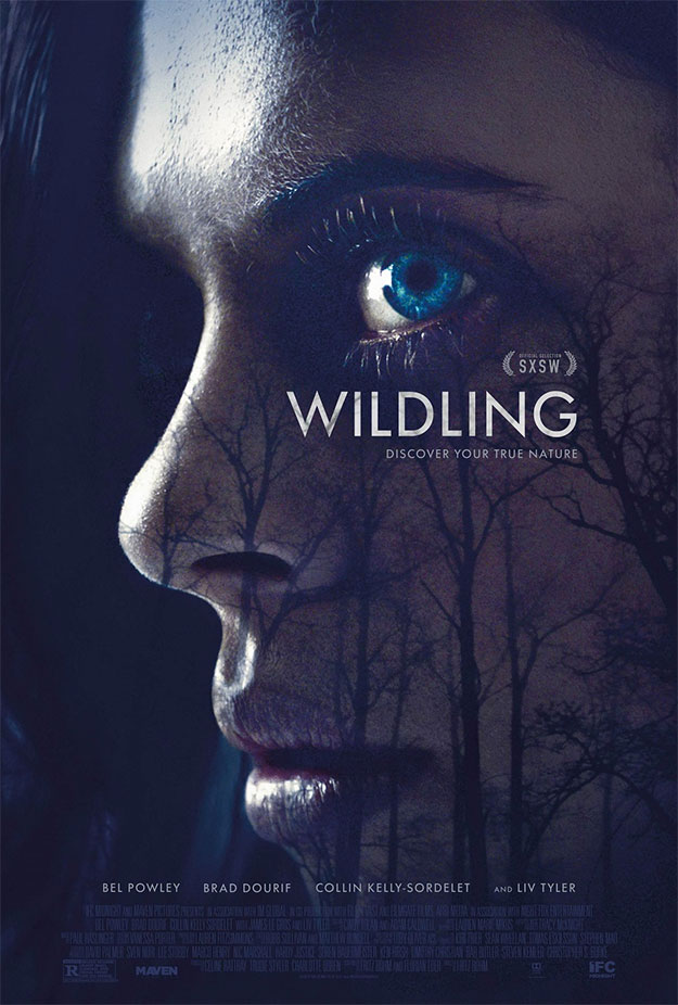 Cartel de Wildling, una de hombres / mueres lobo con Liv Tyler y Brad Dourif