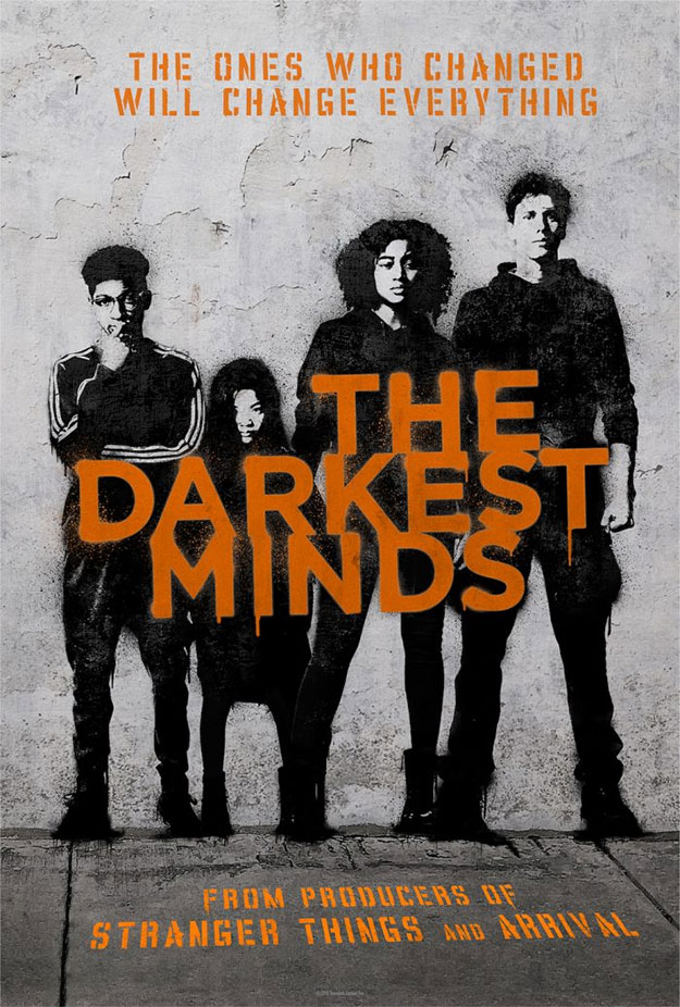 El póster de The Darkest Minds