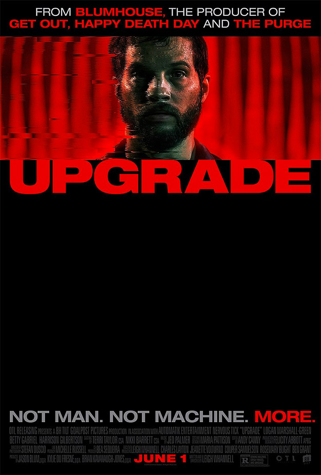 El primer cartel de Upgrade