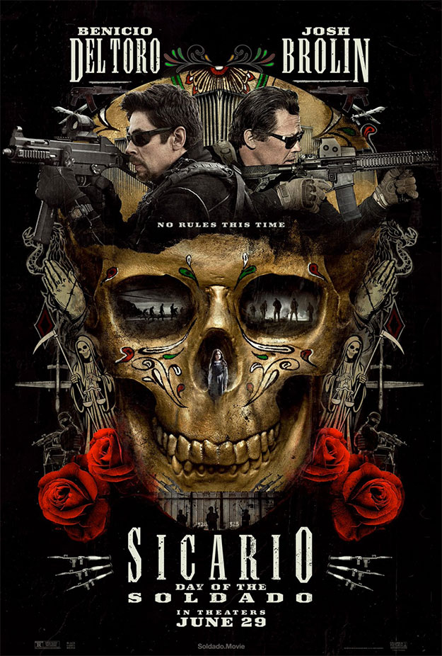 Primer cartel muy molón de Sicario: Day of the Soldado