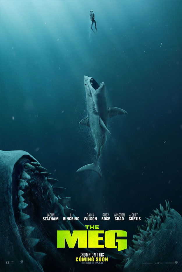 Simpático cartel de The Meg