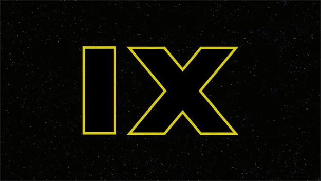 Star Wars: Episode IX está ahí a punto de caramelo