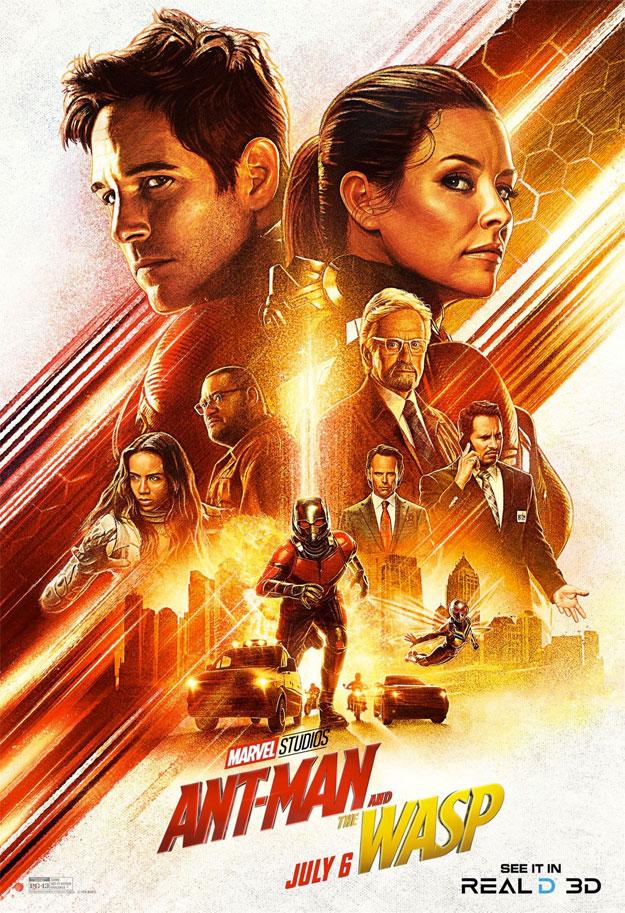 Uno de los carteles de Ant-Man y la Avispa