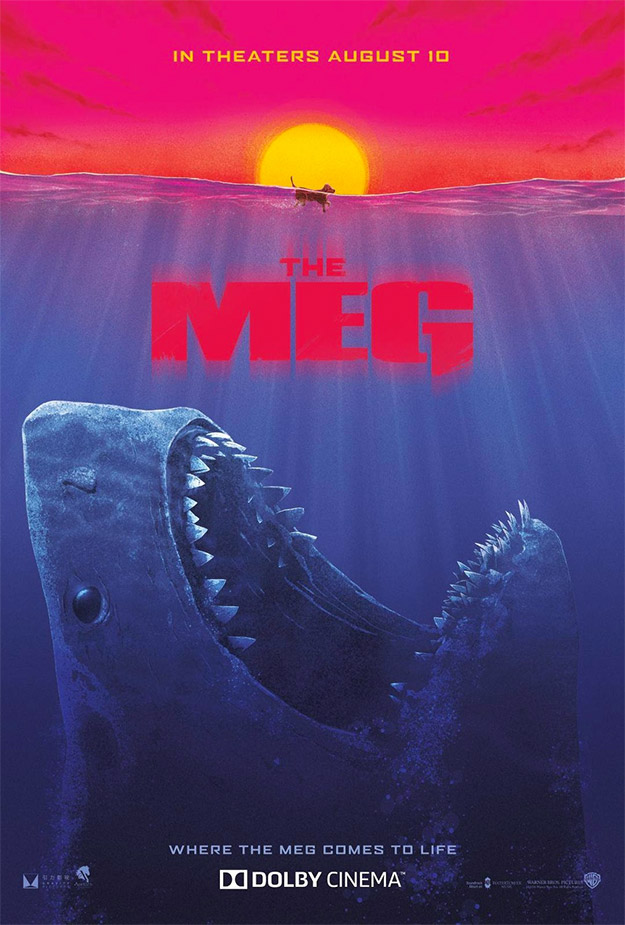 Genial cartel de The Meg