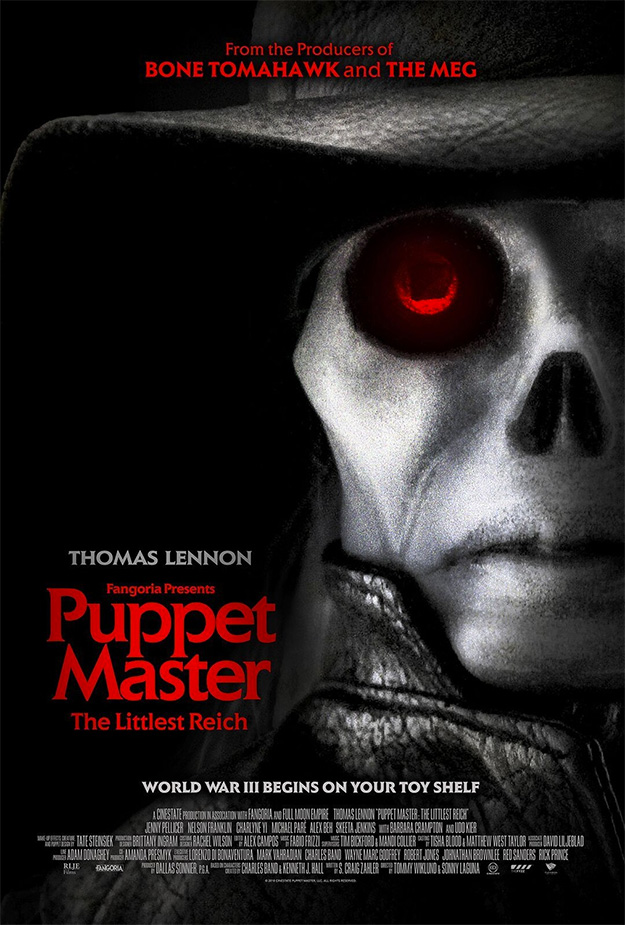 El cartel de Puppet Master: The Littlest Reich