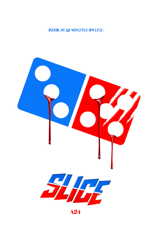 Otro divertido cartel de Slice... de A24