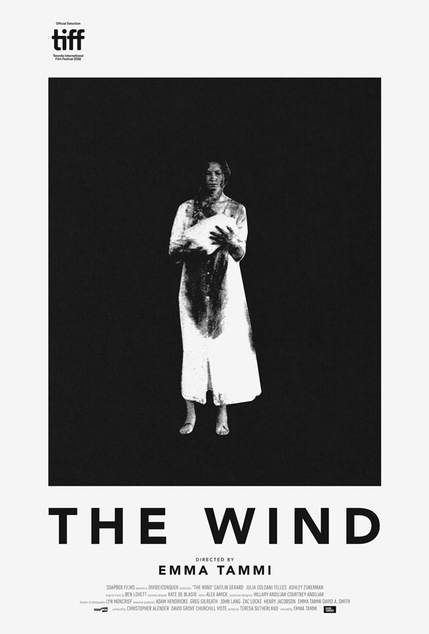 Cartel de The Wind