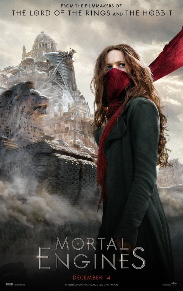 Un nuevo cartel de Mortal Engines